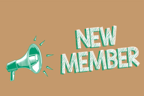 New Member Sign Ups
