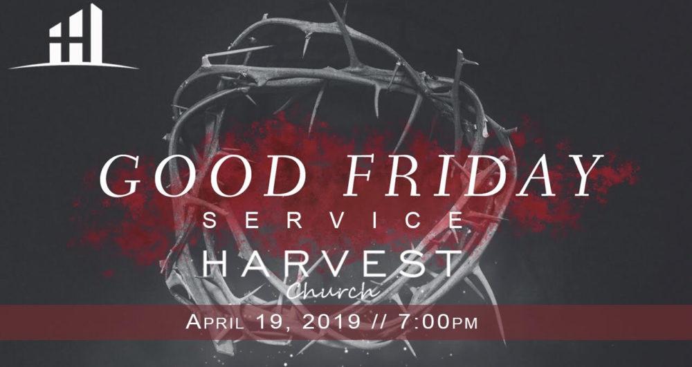 Good Friday Service   April 19th
