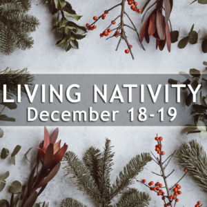 Living Nativity   Cancelled